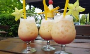 Cocktails im Weiherhaus
