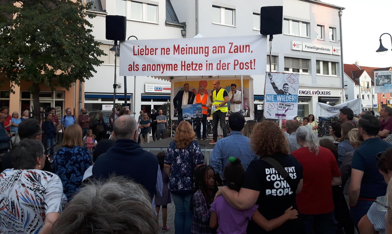 Herz statt Hass – Bensheim zeigt Gesicht gegen Rechtspopulismus
