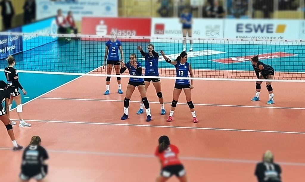 Album: DVV Pokal 1. VC Wiesbaden vs. Schwarz-Weiß Erfurt