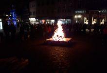 Große Feuerschale